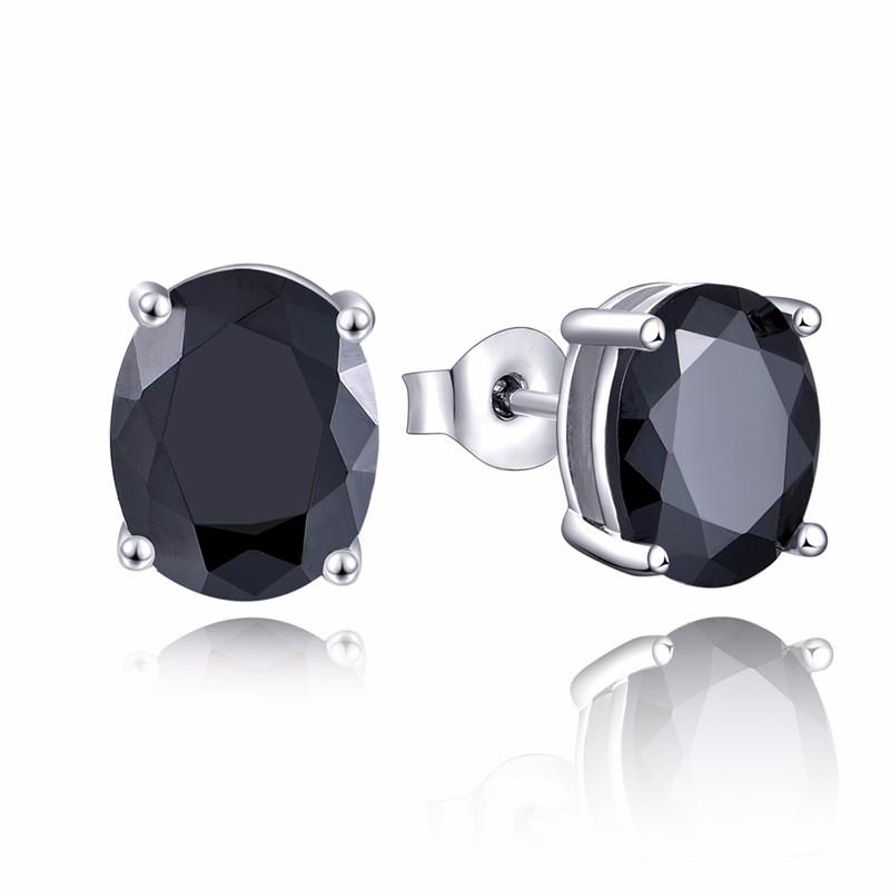 black stud earrings ,hot sale new earrings for women black NE79200F (1)