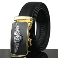 2015 New Bentley Logo Automatic Buckle Belts Sports Car Men Belt Leather Belts For Men