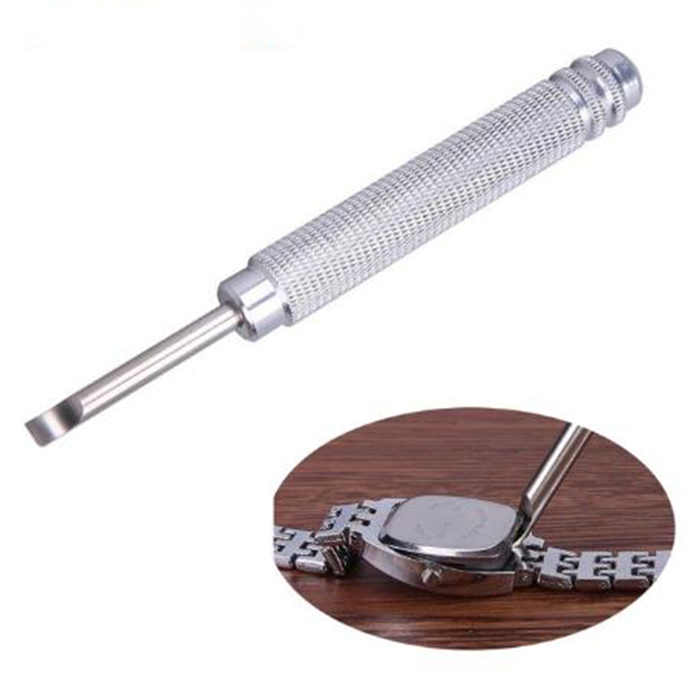 все цены на Remover Watch Battery Opener Tools Pry Knife Metal Handle Clock Watch Tools Back Cover Opener Watch Repair Watchmaker Tool онлайн