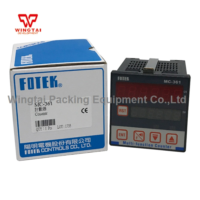 Fotek Digital Counter 90-265V AC Electronic MC-361 6 Digit Counter MeterFotek Digital Counter 90-265V AC Electronic MC-361 6 Digit Counter Meter
