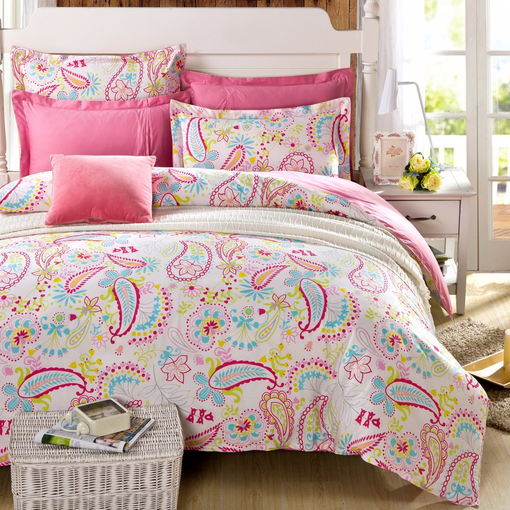 popular pink paisley bedding buy cheap pink paisley. Black Bedroom Furniture Sets. Home Design Ideas