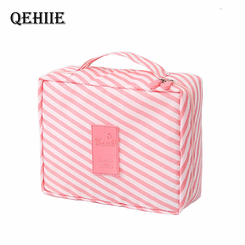 Multifunction Man Women Makeup Bags Nylon Cosmetic Bag Beauty Case Make Up Organizer Toiletry Bag Kits Storage Travel Wash Pouch