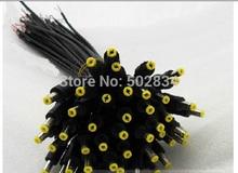 50 sztuk/partia 18AWG zasilania prądem stałym 5.5x2.1mm męski Adapter łącze typu jack kabel przewód 30 cm