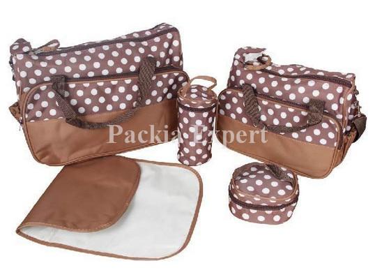 Mamu Mami Mother Diaper bag Food Bottle Multifunction Set For Baby Girl Boy Newborn Mama bag MB006