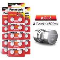 Panasonic 30pc 1.5V Pile Bouton lr44 Pile bouton Au Lithium Batteries A76 AG13 G13A LR44 LR1154 357A SR44