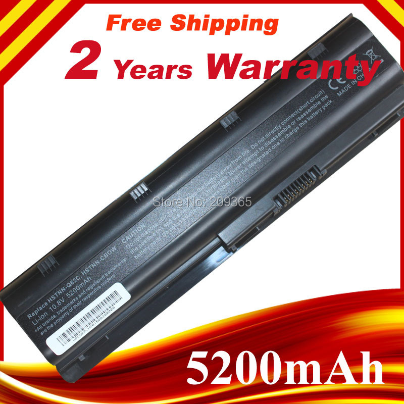 6 Cell New Laptop Battery for HP Pavilion G4 G6 G7 G32 G42 G56 G62 G72 CQ32 CQ42 CQ62 CQ56 CQ72 DM4 MU06 593553-001 593562-001 100wh original new laptop battery mu09 for hp pavilion g4 g6 g7 g32 g42 mu06 g56 g62 g72 cq32 cq42 cq62 cq72 dm4 593553 001