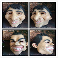 Free shippingl Famous Football Star Mask of Macey and C Ronaldo Halloween Latex Party Man Mask Human Face Head Mask in stock Toy