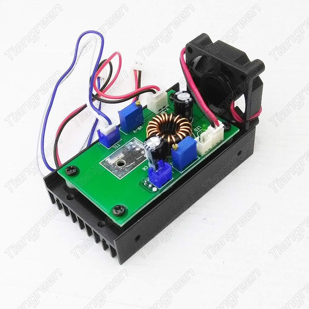 Blue Laser Driver 450nm TTL Laser Diode Module Driver Circuit Board 12V diy