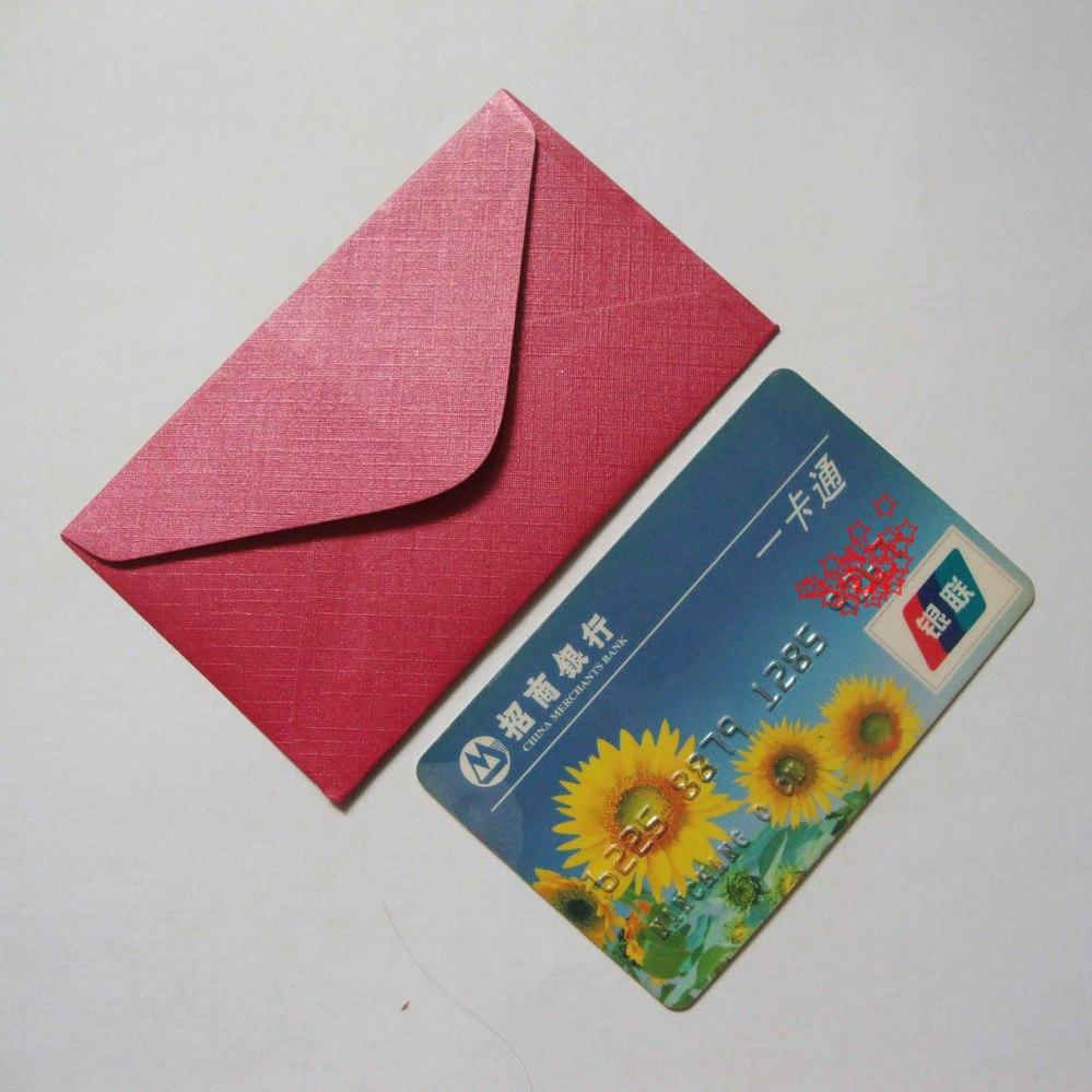 free shipping ! 60x100mm mini envelopes / Small envelope VIP card ...