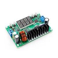 Módulo de fuente de alimentación programable reductor de corriente de voltaje constante DP30V5A L convertidor de voltaje buck regulador de pantalla LED|Multímetros| |  -