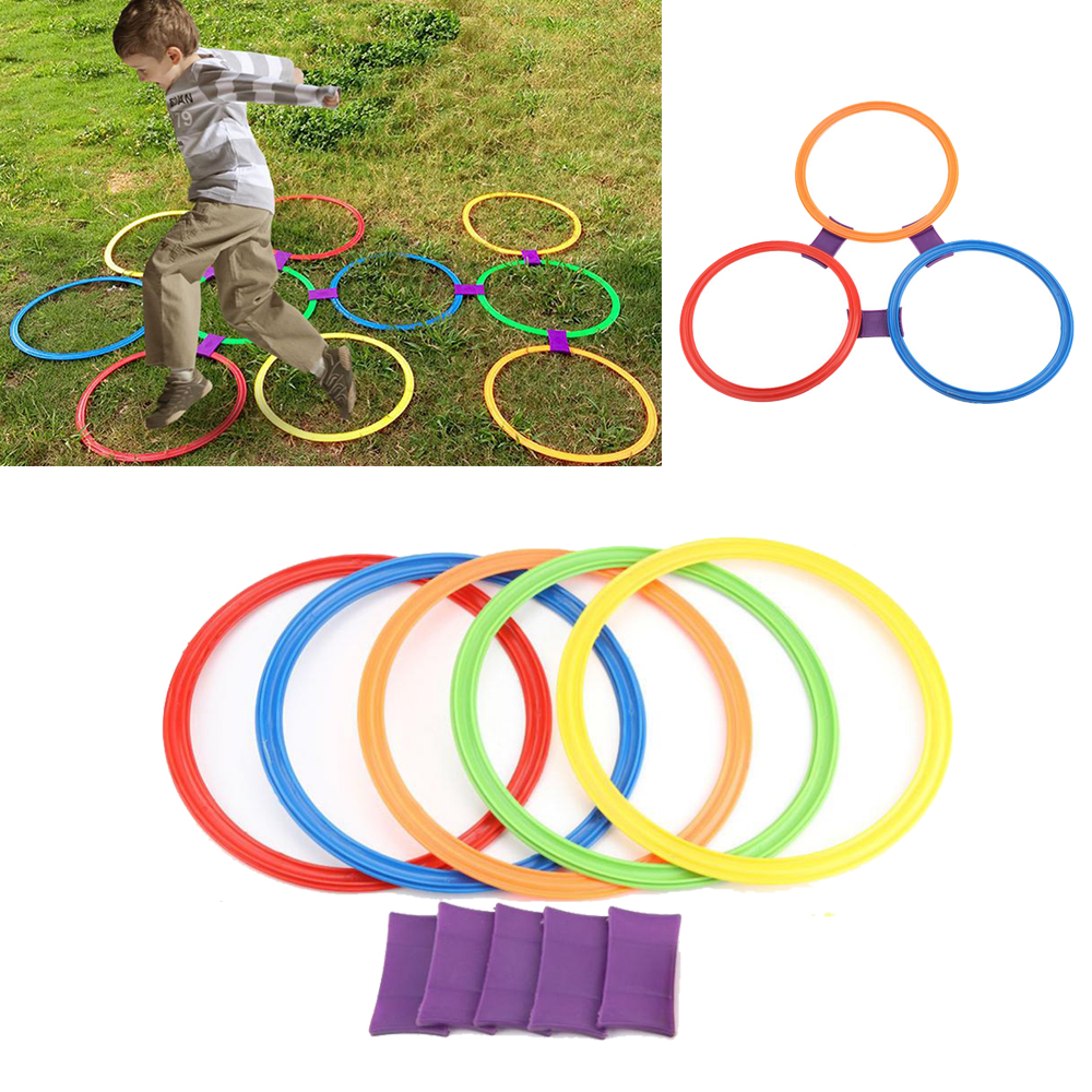 Jumping Ring Outdoor Toys Sports 2018 Preschool Teaching Toys Children Movement Ability  ...