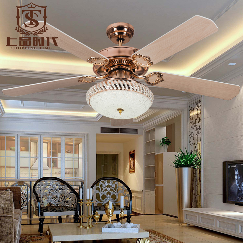Ventilador de teto de cristal popular buscando e comprando - Ventiladores de techo rusticos ...