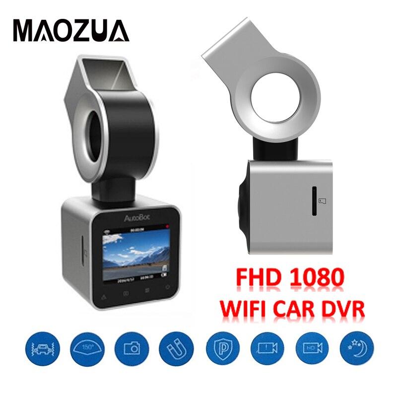 AutoBot G-Sensor Mini Car Camera HD1080P Smart WiFi Car DVR Novatek 96655 WDR Night Vision DashCam Dash Cam цены онлайн