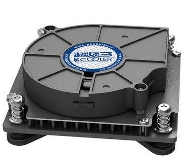 Broches Turbo ventilateur Utral-Mince 29mm pour 1U serveur CPU cooler Tous-en-Un PC De Refroidissement Pour LGA 1151 1150 1155 1156 PcCooler C81H cpu ventilateur