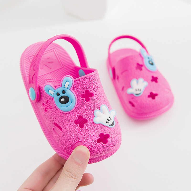 2019 ขายใหม่ร้อนคุณภาพสูงเด็กรองเท้าเด็กการ์ตูนฤดูร้อนรองเท้าแตะเด็กวัยหัดเดินเด็กทารกรองเท้าแตะ