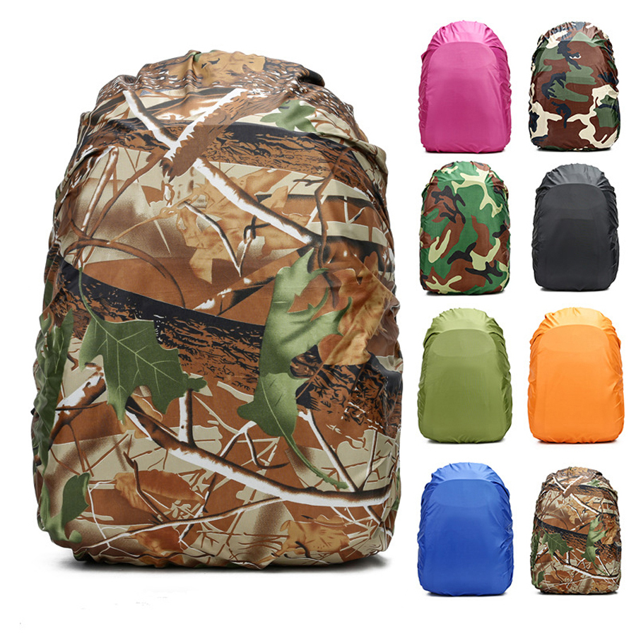Backpack Rain Cover 60L 50L 40L 30L 25L 20L Waterproof Bag Camo Military Tactical Camping Hiking Bag Folding Nylon Raincoat Suit harley davidson headlight price