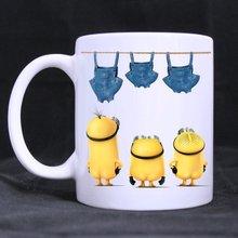 Cartoon despicable me tassen minions tassen coole foto kaffee bierkrug keramik Tee kunst cup