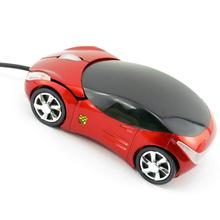 Brand 2015 New High Quality Wired Mouse Mice 3D Optical USB 800DPI Car Shape for
