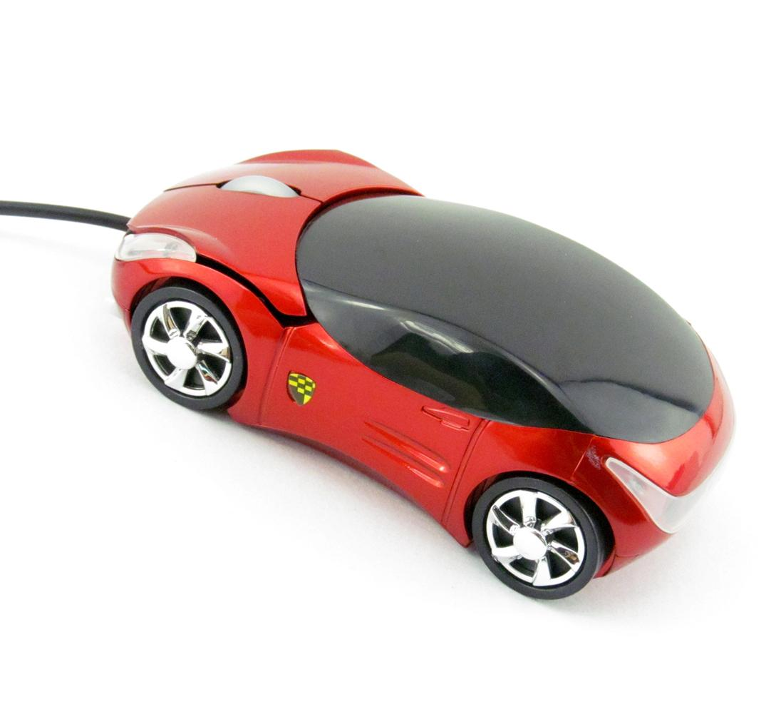 Brand 2015 New High Quality Wired Mouse Mice 3D Optical USB 800DPI Car Shape for PC/Laptop Notebook Computer #B image
