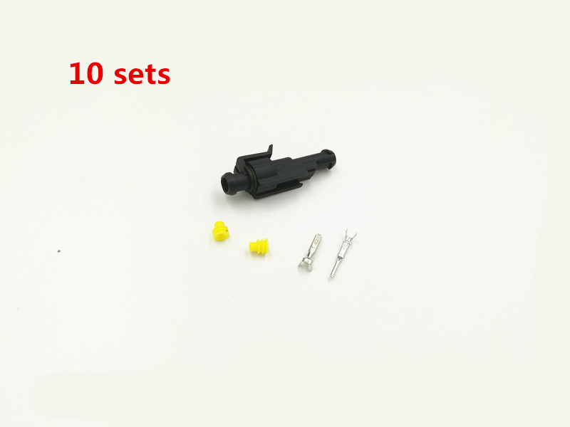 Pins Electrical Wire Connector Car Motorcycle Atv 1 Kit Terminal