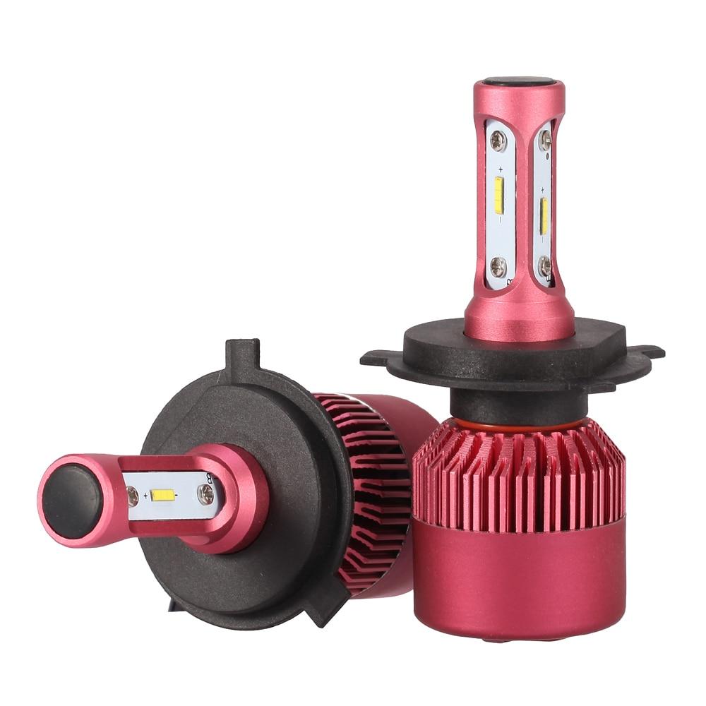 H4 HB2 9003 1860 LED Ксеноновые преобразования фар лампы Conversion Kit Туман DRL 72 Вт 6500 К DC 12 В 24 В для Привет/Lo луч света