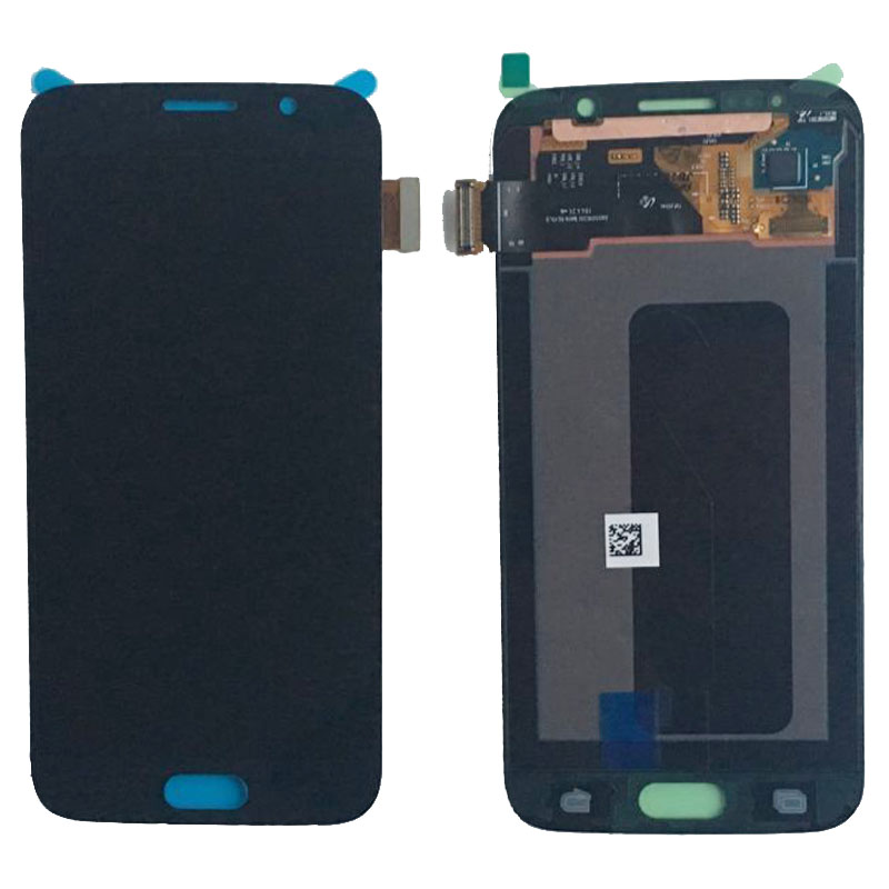LCD Display Screen Touch Digitizer Glass Assembly For Samsung S6 G920 G920F Mobile Phone Black