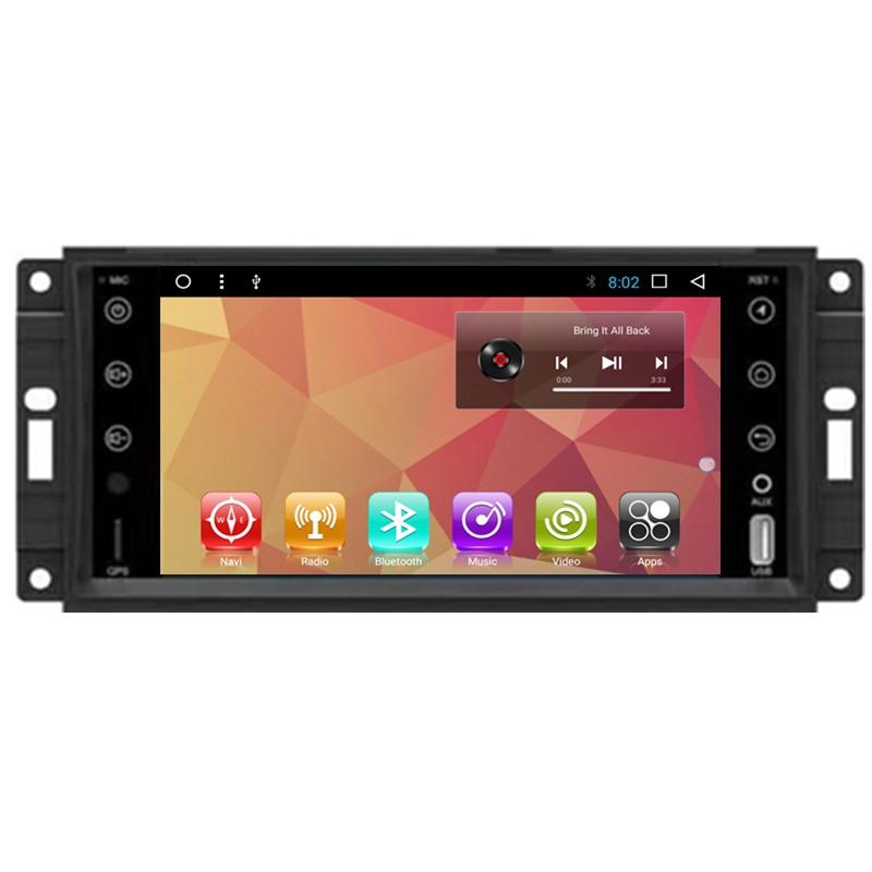 7 Android автомобильный мультимедийный Стерео DVD gps навигации для Jeep Commander компасы Wrangler Grand Cherokee 2007 2008 2009 2011 2010