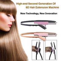Kit de herramientas de extensión de cabello 6D de alta gama, Manual de pistola, Kit de herramientas para extensiones de cabello, profesional, rápido extensión