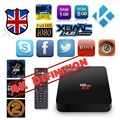 S905X V88 Pro Tv box Amlogic Quad Core 4 К H.265 Android 6.0 8 Г EMMC HDMI 2.0 коди ЕС IPTV set top box XBMC 2.4 ГБ Wi-Fi как маршрутизатор