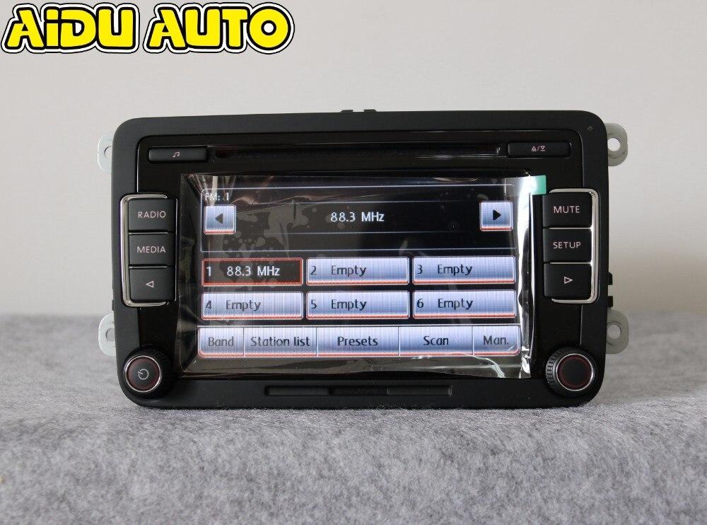 AIDUAUTO Stereo Autoradio RCD510 USB Lettore MP3 USB AUX PER VW Golf 5 6 Jetta MK5 MK6 CC Tiguan Passat Polo