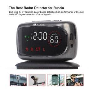 Image 3 - Ruccess S800 レーダー探知機警察速度車のレーダー探知 Gps ロシア 360 度 XK CT L antiradar 車の検出器
