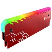 JONSBO NC 1 Aluminum Magnesium Alloy RGB Light Effect Glow Desktop Memory Cooling Vest