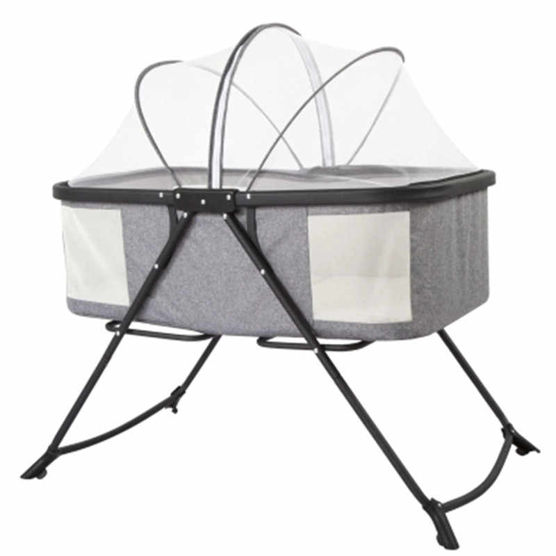 Складная кроватка портативный Новорожденный ребенок Колыбель детская кроватка multi-function sleepy успокоить качалка-кровать с москитной сеткой