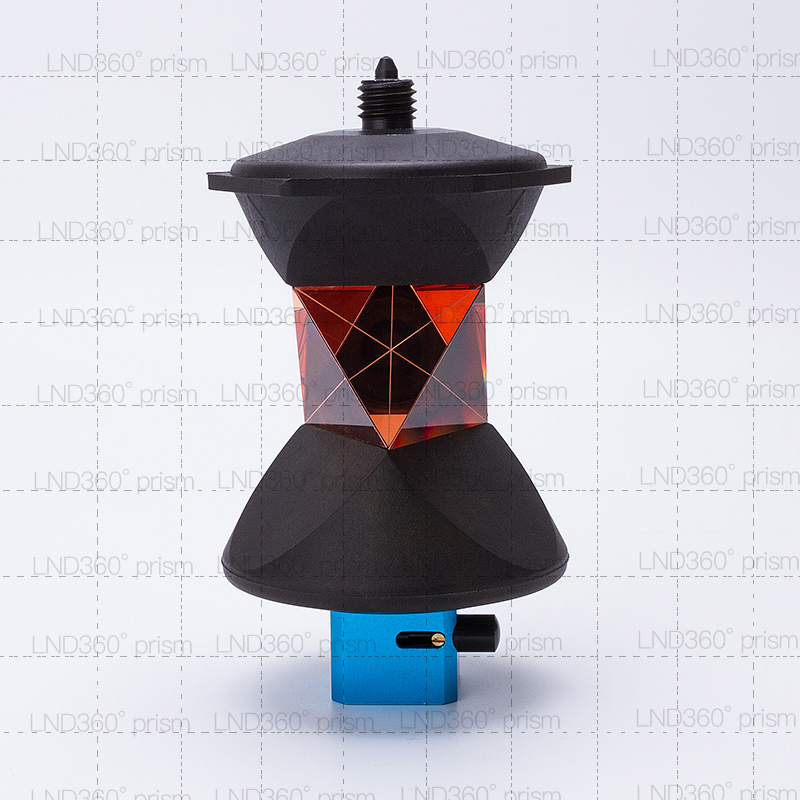 NEW 360 Degree Reflective Prism for Total Station 5 8x11 thread on top