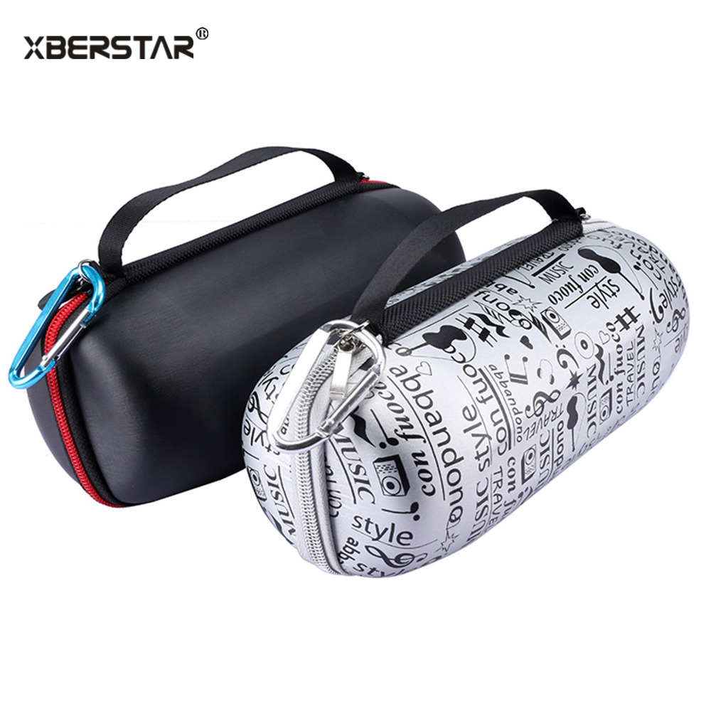 Portable Travel Carry Storage hard Case Bag Holder Zipper Pouch for JBL Charge 3 Wireless Bluetooth Speaker