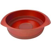 Форма для запекания Rondell Karamelle 22cm RDF-447 (Углеродистая сталь и силикон, антипригарное покрытие, диаметр 22 см, подходит для посудомоечной машины)