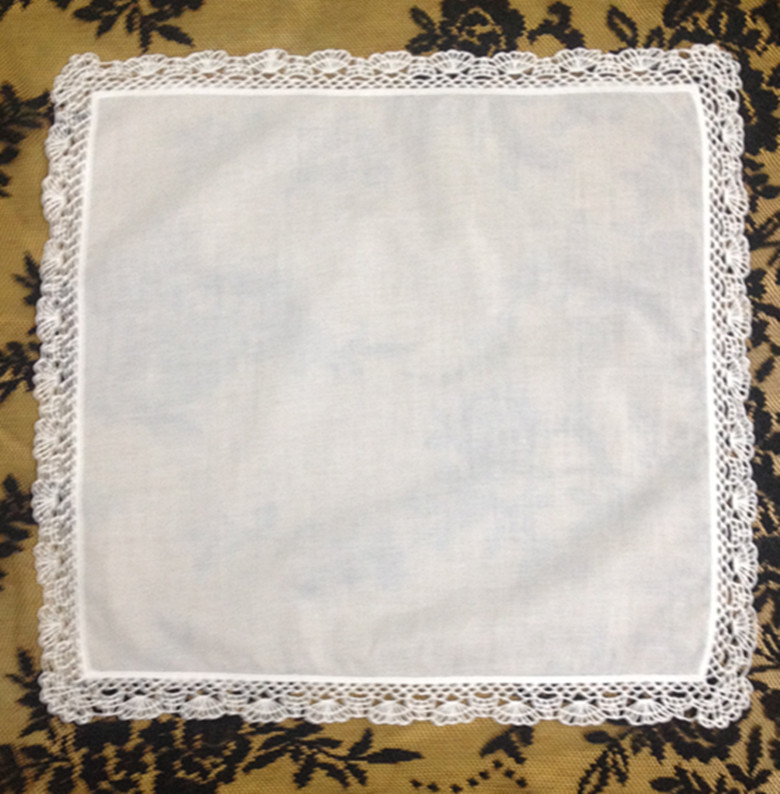 Fashion Women Handkerchiefs 12PCS/Lot 12x12