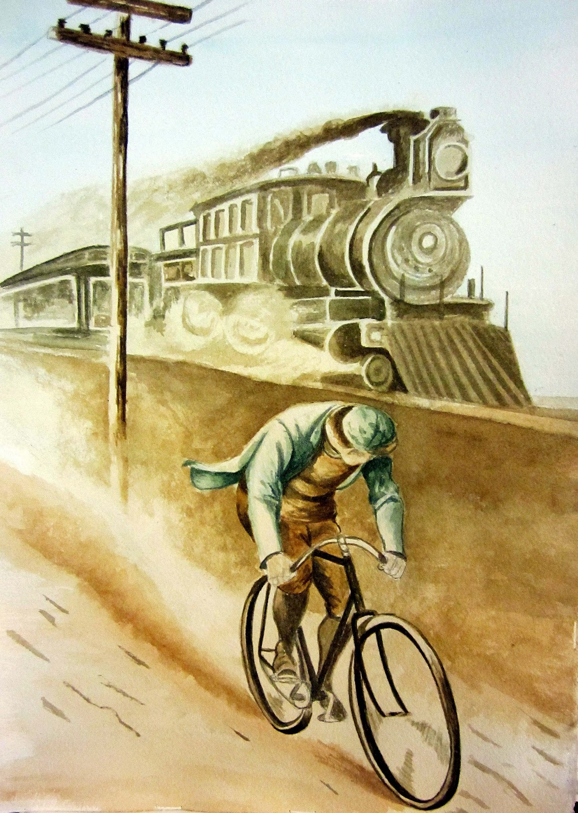 Great Cycling Wall Art Contemporary - The Wall Art Decorations ...