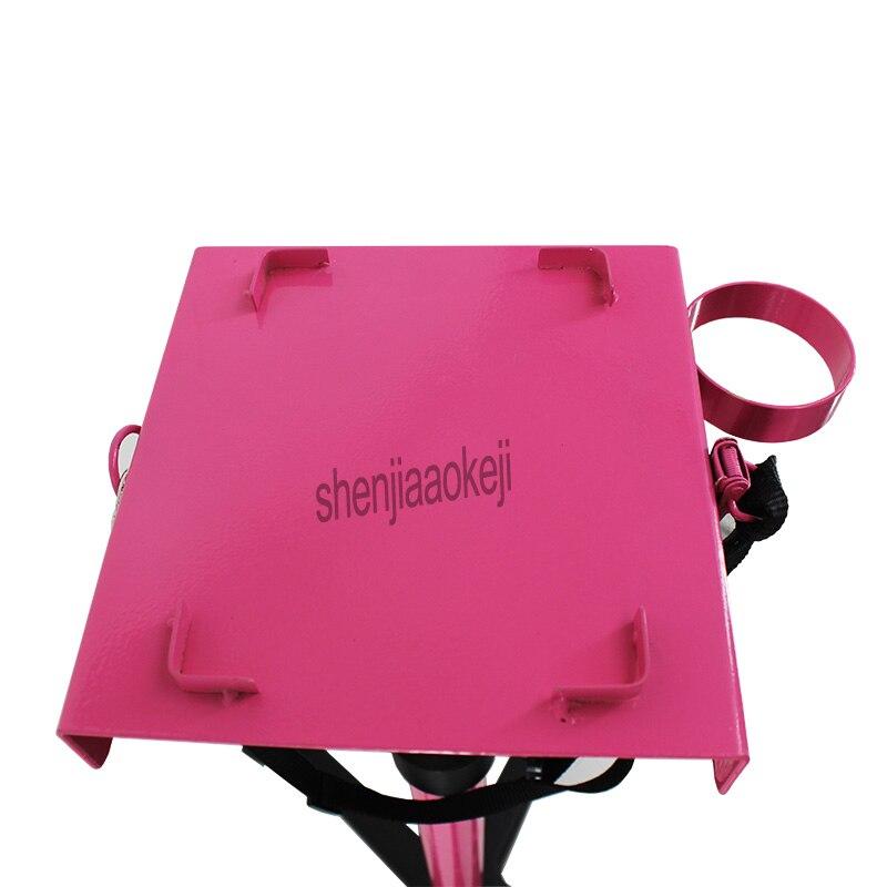 Nouveau support de sèche cheveux pour animaux de compagnie support réglable moteur chien chat ventilateur support roue mobile chien brosse étagère non inclus sèche cheveux 1 pc - 3