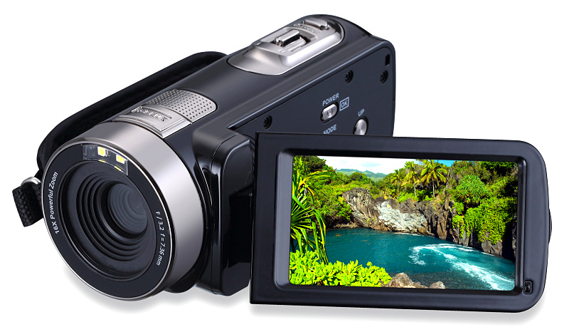 Winait Newest professional video camera 24mp 5.0MP CMOS 16X digital zoom photo camera infrared nightshot 1080P digital camcorder