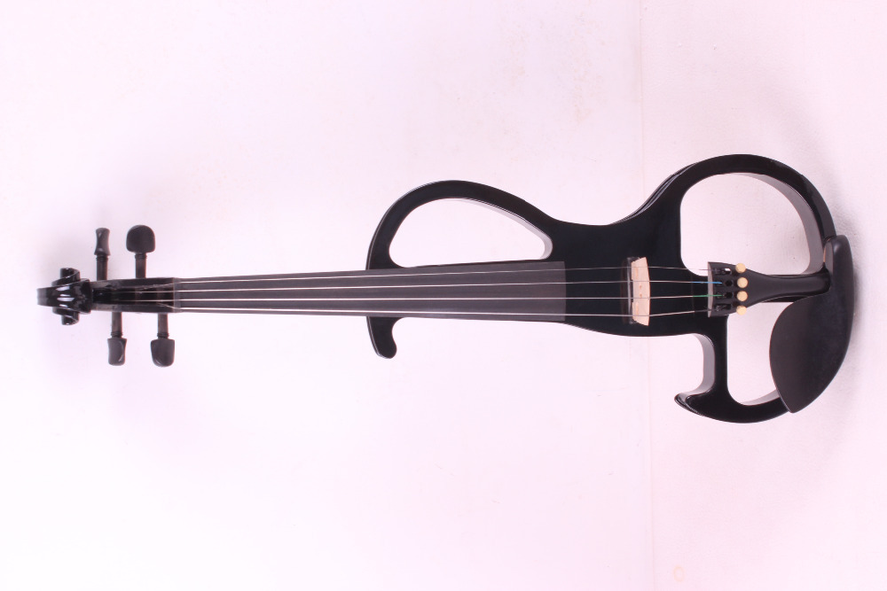 4 string 4/4 Electric Violin WHITE black  color  #2 the item is the color   if you need other color please tell me 4 string 4 4 electric violin silent pickup fine tone solid wood3 the item is the color if you need other color please tell me