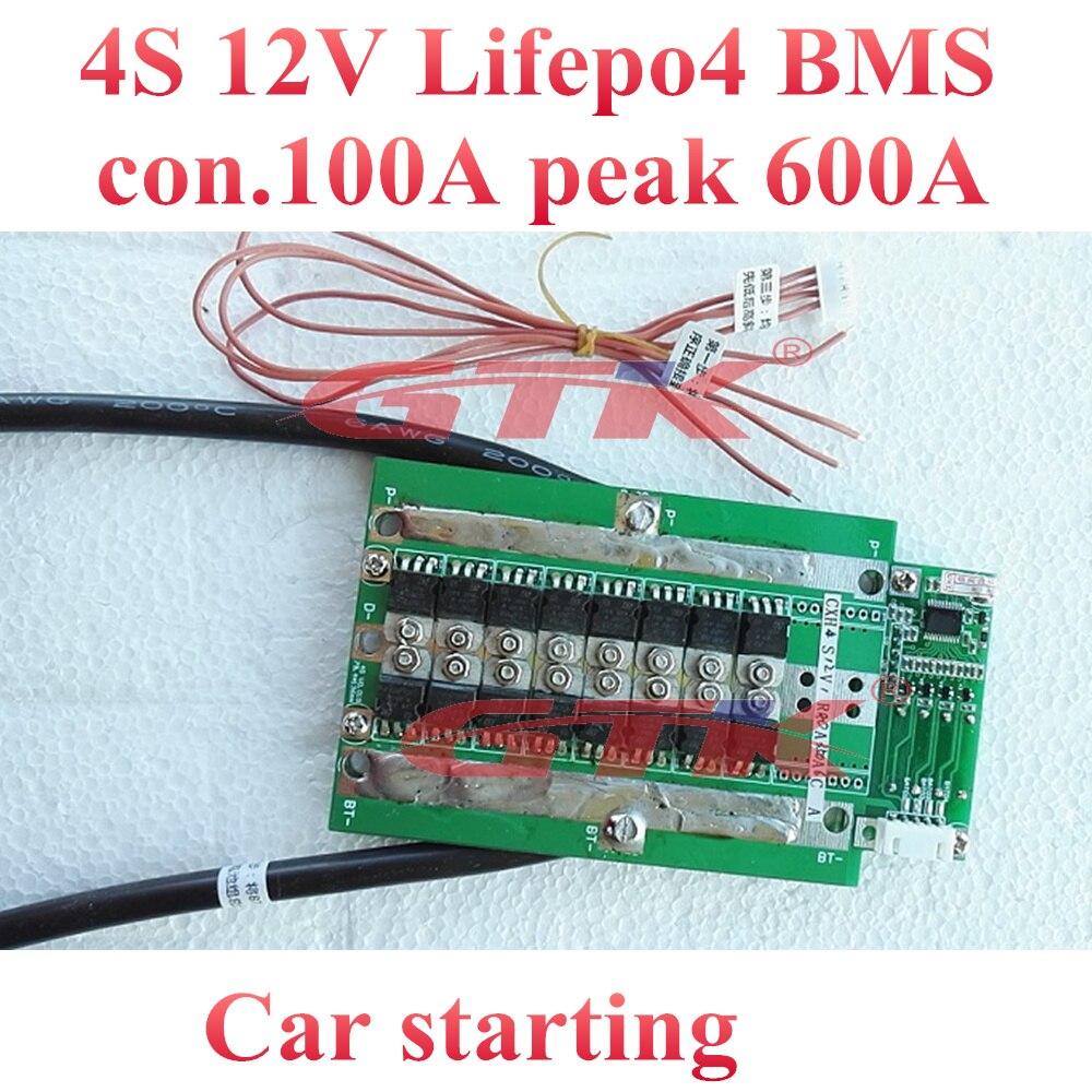 4S BMS LiFePO4 LiFePo 150A Peak Protectio Board Balance PCM Battery PCB 12V 3.7V Elektronik & Messtechnik