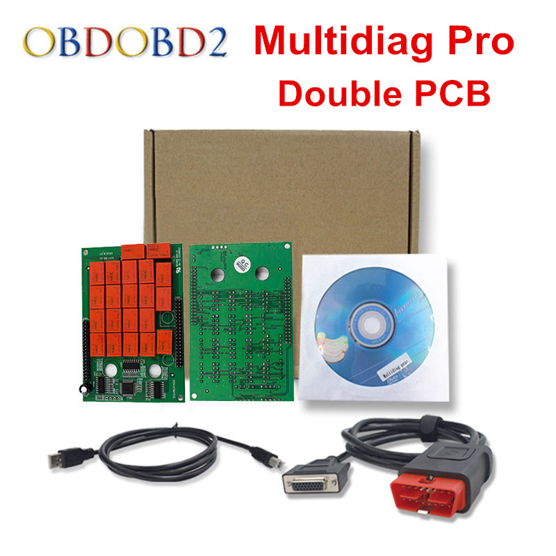 все цены на Best Quality Multidiag PRO With Bluetooth Double PCB 2014.R2/R3 Free Keygen For Car/Truck TCS CDP OBD2 Diagnostic Tool онлайн