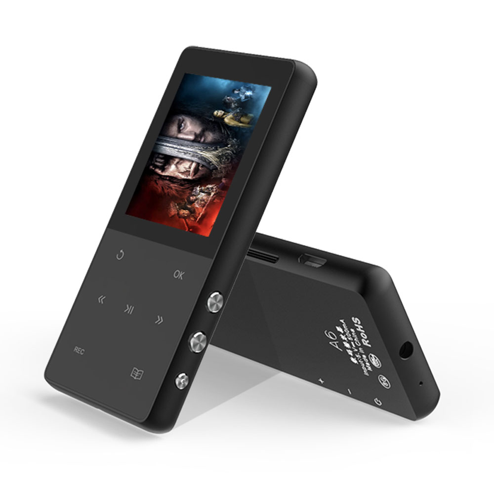 цена на Original Touch Screen Metal MP3 Player 8GB AUPHIL A6 digital voice recorder Lossless Music Player with FM E-Book