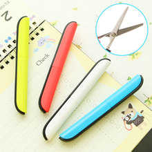 Crafting portable font b scissors b font paper cutting folding safety font b scissors b font