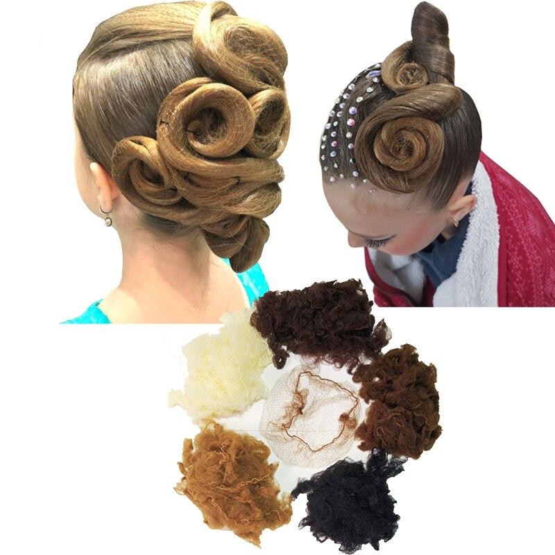 Fine Mesh Women Fashion Hair Styling Tool Wig Net Invisible Hair Nets Bun Cover