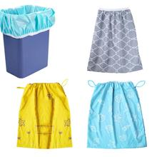 65x70cm Baby Diaper Nappy Wet Bag Waterproof Washable Reusable Diaper Pail Liner Or Wet Bag For Cloth Nappies Or Dirty Laundry 3 pcs pail liner waterproof cloth diaper bags waterproof draw string reusable wet dry bags nappy bag 50x60cm
