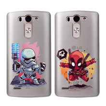 Fashion For LG G4 G5 G6 Q8 Q6 K8 K7 K10 2017 XPower 2Q version hero Soft TPU Phone Case Personality Back Shell Etui Fundas Capas 2q