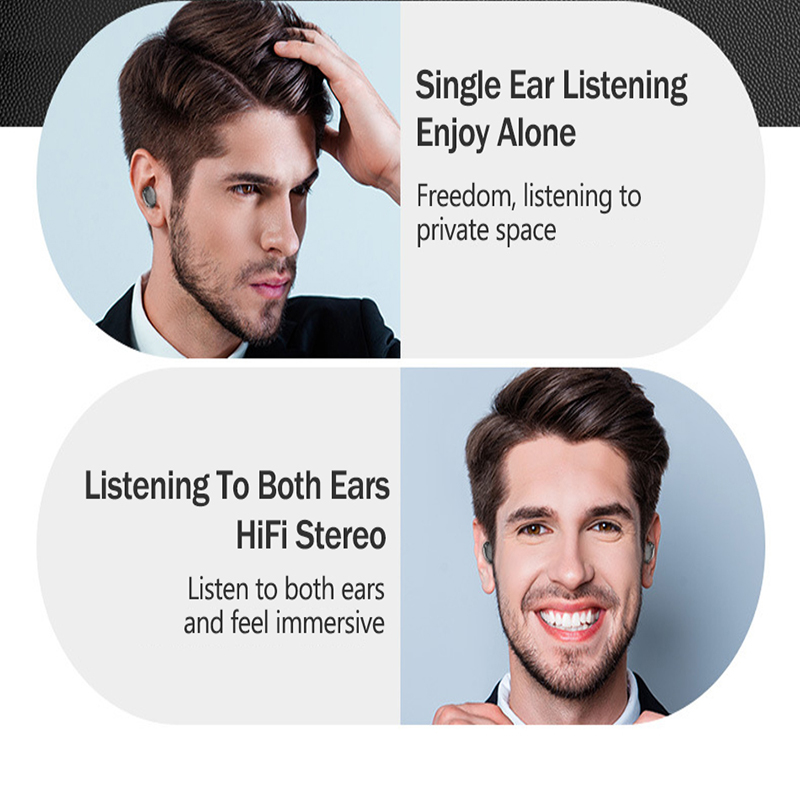 TWS Wireless Bluetooth Earphone waterproof headphones Earbuds Stereo sound Gaming Headset with mic 3500mAh LED charging box G6S in Bluetooth Earphones Headphones from Consumer Electronics