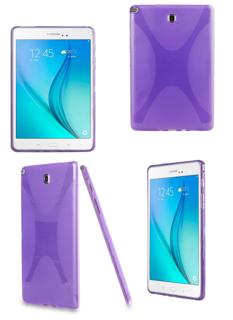 X Line soft Silicone Rubber TPU Gel Case Back Cover Skin Shell for for Samsung Galaxy Tab A 8.0 inch T350 T351 T355 SM-T355 candy silicone tpu gel soft case for samsung galaxy tab 2 7 0 7 p3100 p3110 tablet rubber material shockproof back cover s3030d